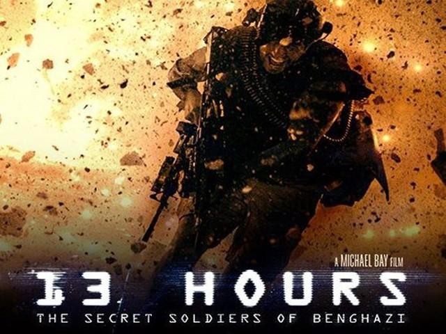 13 Hours: Better than the Transformers movies but still a pretty bad movie