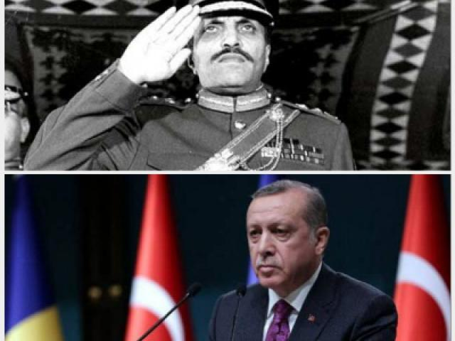 What is so similar about Pakistan and Turkey?