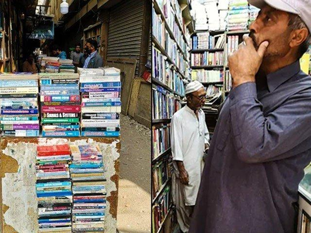 """Urdu Bazaar: """"We have lavish shops for shoes but for books, we can't even find space on a drain"""""""