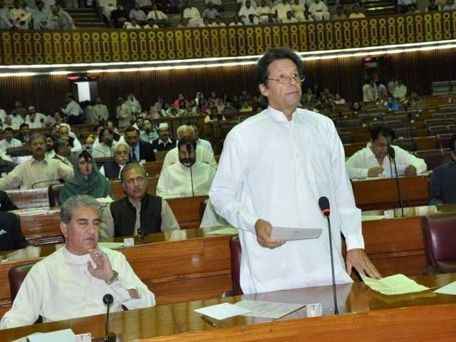 Imran Khan has attended 6 out of 34 NA sessions, yet blames opposition for wasting taxpayers' money
