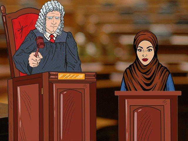 Does judicial bias really favour women who cover themselves?