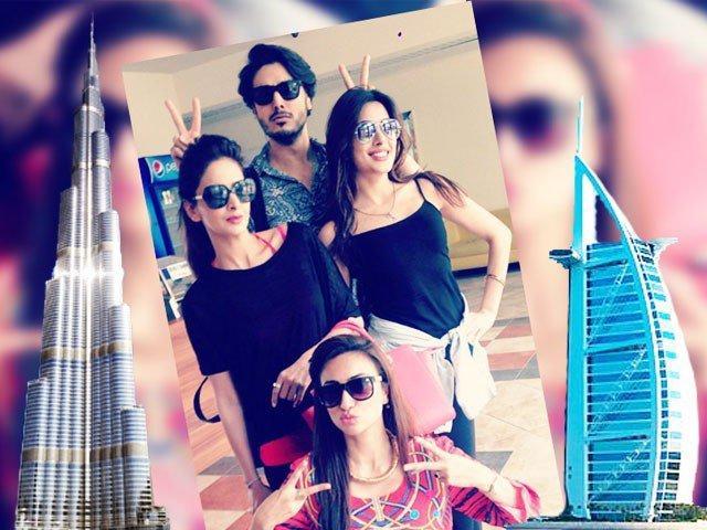 Six things Pakistani celebrities do when they visit Dubai