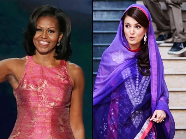 If Michelle Obama can do it, why not Reham Khan?