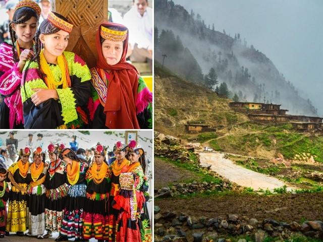 The women of Kalash are a tale of colours, simplicity and struggle